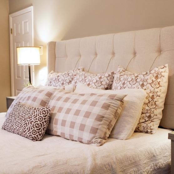 pillows detail